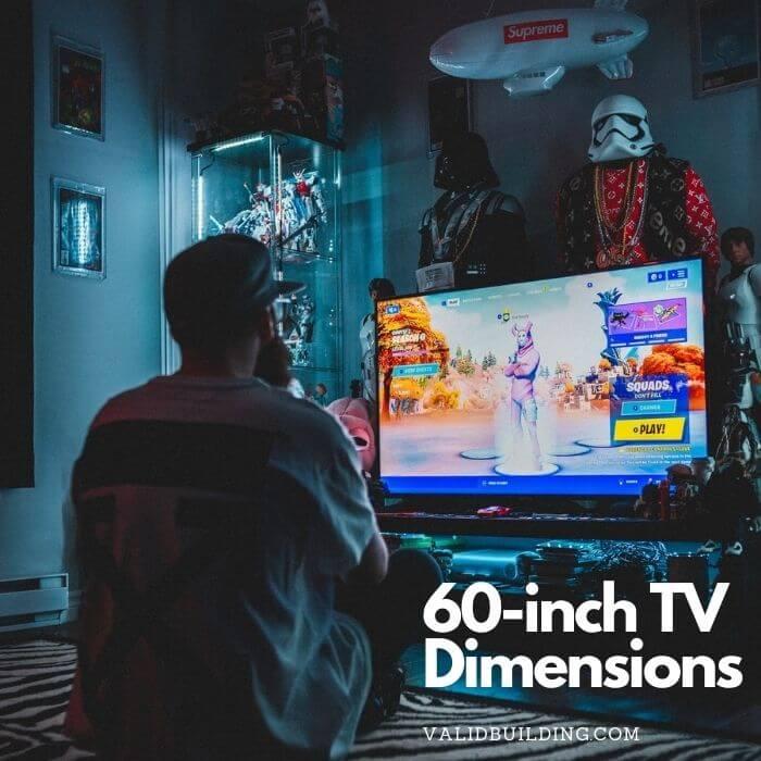 60-Inch TV Dimensions
