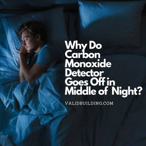 carbon monoxide detector goes off in middle of night